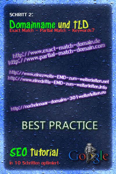 seo tutorial für anfänger  schritt2- domain