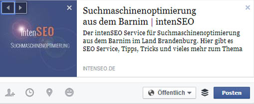 Social-Media-SEO - geteilt mit Open-Graph