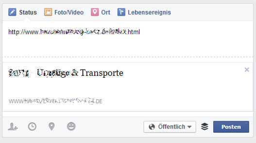 Social-Media-SEO - geteilt ohne Open Graph