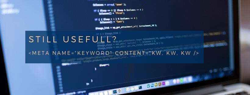 Meta-Keywords sinnvoll