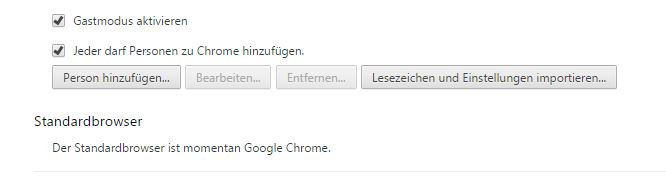 chrome als standardbrowser verwenden