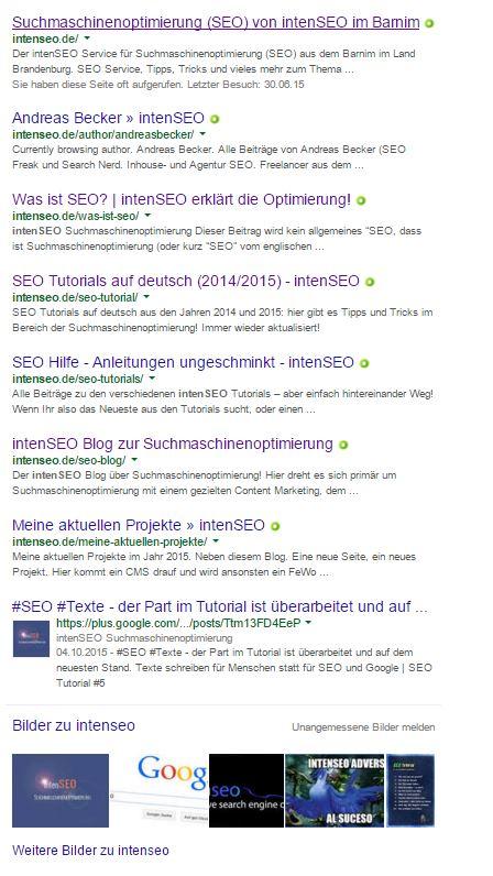 Google SERP - Serach Engine Result Page