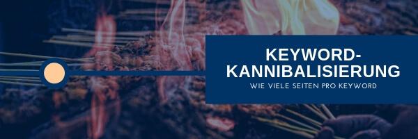 Keyword Kannibalisierung - Cannibalisation: Mehrere Seiten auf ein Keyword optimiert