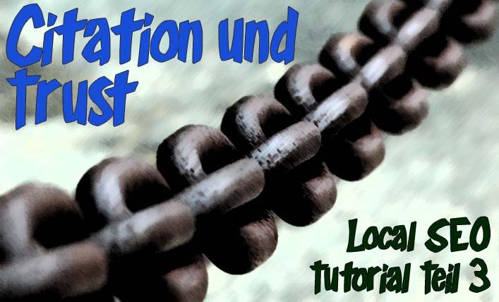 Citation und Trust – Branchenbuch-Backlinks für lokale Rankings