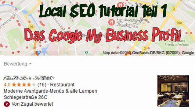 Google My Business Profil