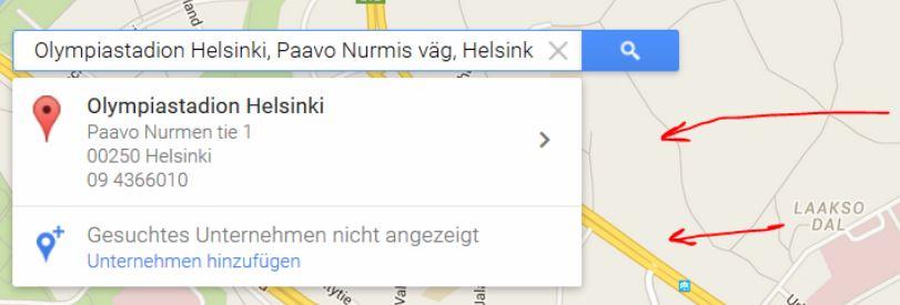 google maps eintrag existiert bereits
