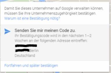 Der Google Pin