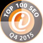 intenSEO ist unter den Top 100 SEO Dienstleistern Deutschlands im 4ten Quartal 2015