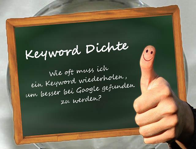 Perfekte Keyworddichte für Google (Keyword Density)