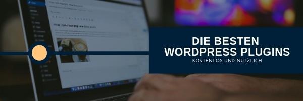 WordPress Plugins - die besten kostenlos