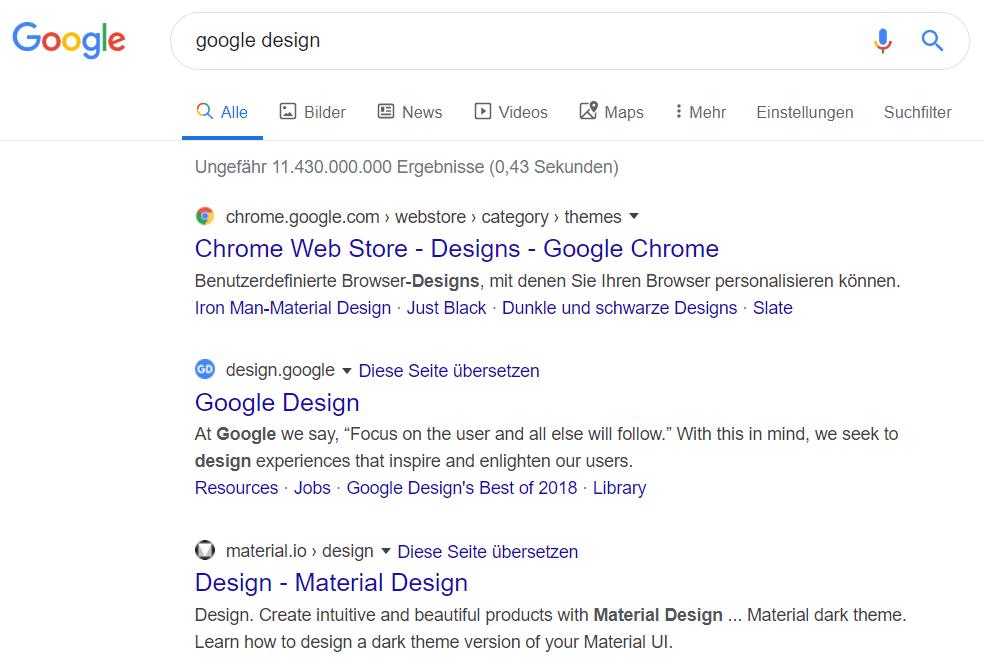 Google Design Update 2020