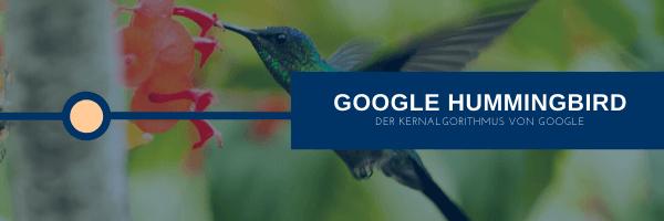 Google Hummingbird Kernalgorithmus