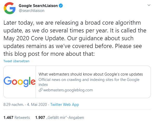 core-update-mai-4-2020