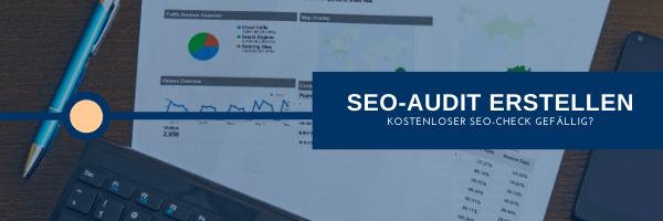 SEO-Audit erstellen kostenloser SEO-Check